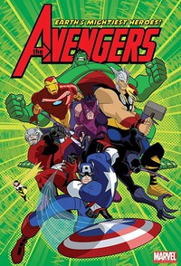 The Avengers: Earth's Mightiest Heroes movie cover
