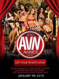 2010 AVN Awards Show main cover
