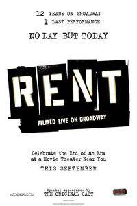 Rent: Filmed Live on Broadway main cover