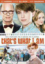 that_s_what_i_am movie cover