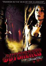 butchered movie cover
