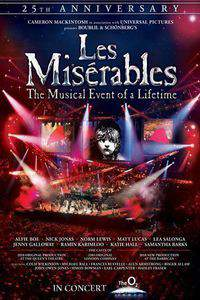 Les Miserables in Concert: The 25th Anniversary main cover
