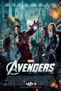 The Avengers main cover