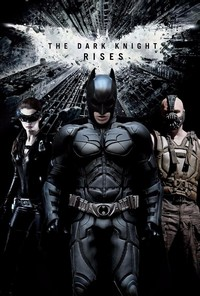 The Dark Knight Rises main cover