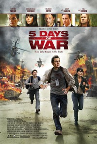 5 Days of War main cover