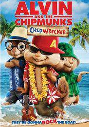 Alvin and the Chipmunks: Chipwrecked main cover