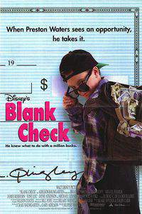 Blank Check main cover