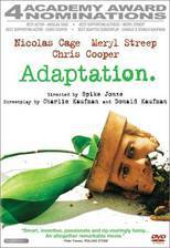 adaptation movie cover
