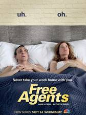 free_agents movie cover