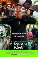 a_thousand_words_2012 movie cover