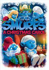 the_smurfs_a_christmas_carol movie cover