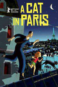 A Cat in Paris main cover