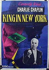 A King in New York main cover