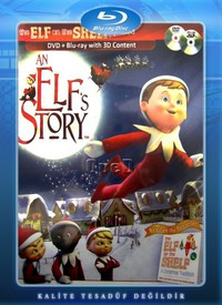 An Elf's Story: The Elf on the Shelf main cover