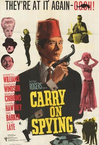 Carry on Spying main cover