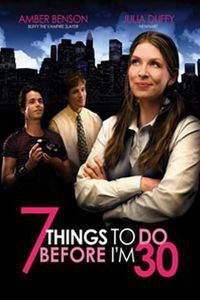 7 Things to Do Before I'm 30 main cover
