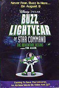 Buzz Lightyear of Star Command: The Adventure Begins main cover