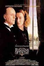 the_remains_of_the_day movie cover