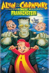 Alvin and the Chipmunks Meet Frankenstein main cover