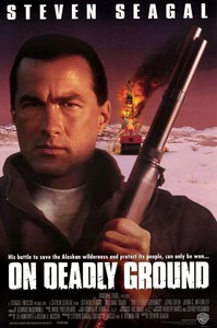 On Deadly Ground main cover