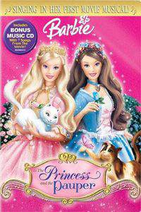 Barbie as the Princess and the Pauper main cover