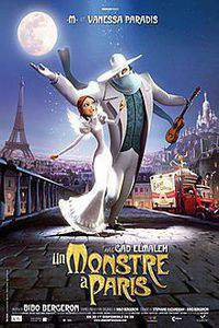 A Monster in Paris main cover