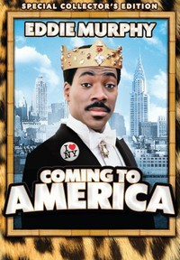 Coming to America main cover