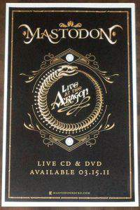 Mastodon Live at the Aragon main cover