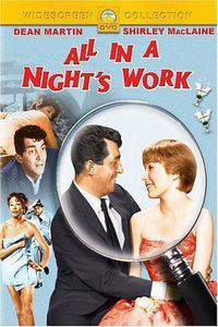 All in a Night's Work main cover