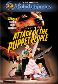 Attack of the Puppet People main cover