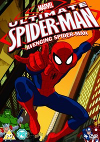 Ultimate Spider-Man movie cover