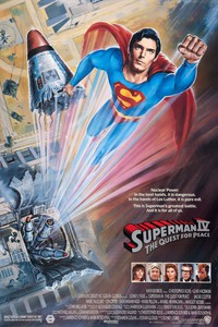 Superman IV: The Quest for Peace main cover