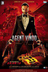 Agent Vinod main cover