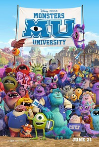 Monsters University main cover
