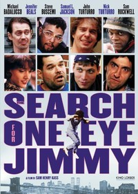 The Search for One-eye Jimmy main cover