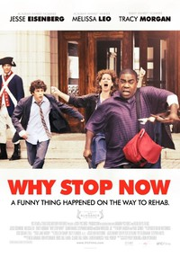 Why Stop Now main cover