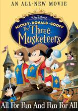 mickey_donald_goofy_the_three_musketeers movie cover