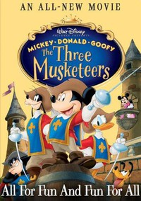 Mickey, Donald, Goofy: The Three Musketeers main cover