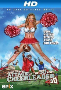 Attack of the 50ft Cheerleader main cover