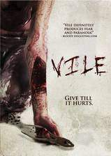 vile movie cover
