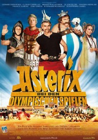 Asterix at the Olympic Games main cover