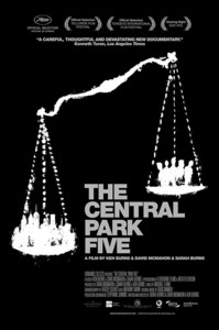 The Central Park Five main cover