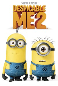 Despicable Me 2 main cover