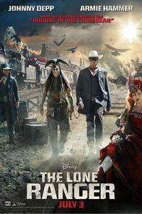 The Lone Ranger main cover