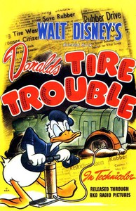 Donald's Tire Trouble main cover