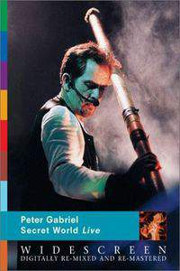 Peter Gabriel's Secret World main cover