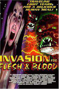 Invasion for Flesh and Blood main cover