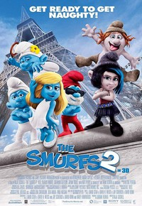The Smurfs 2 main cover