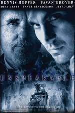unspeakable movie cover