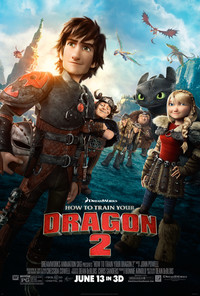 How to Train Your Dragon 2 main cover
